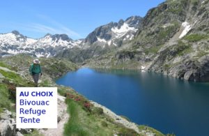 Trek Cauterets, lac opale